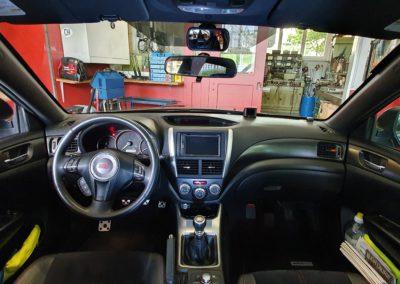 Montage autoradio + GPS